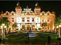 The casino of Monte Carlo.