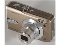 Fujifilm FinePix F30 camera.