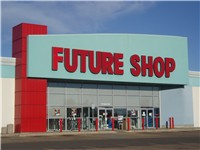 A Future Shop store in Edmonton
