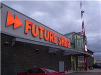 The new style of Future Shop store in Moncton