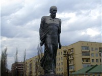 Statue of Dostoyevsky in Omsk