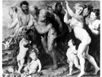 The March of the Silenus by Peter Paul Rubens was obtained in Warsaw in 1656 (missing since World Wa
