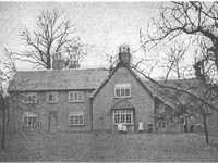 George Eliot's birthplace at South Farm, Arbury