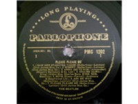 The Beatles' first Parlophone LP -- produced by Martin.
