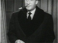 as Addison DeWitt in the trailer for All About Eve (1950)