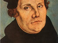 Martin Luther, (1483--1546) initiated the Protestant Reformation.