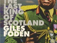The Last King of Scotland by author Giles Foden (Faber and Faber 1998)