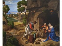 "The Allendale Nativity/Adoration of the Shepherds c. 1505 - National Gallery of Art. The ""Allendale"