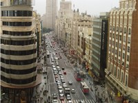 "Gran Vía, also called ""The Spanish Broadway""."