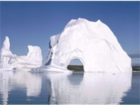 Scoresby Sund in eastern Greenland, the longest fjord in the world.