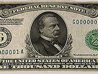 Cleveland on the $1000 bill