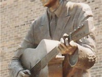A life-size statue of Williams stands in downtown Montgomery, Alabama, where he began his music care