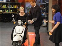 Harry Connick Jr. and Renee Zellweger at the Rachel Ray show, January 30, 2009.