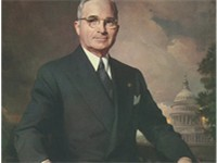 Official White House portrait of Harry S. Truman