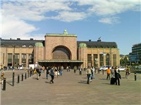 Helsinki Central railway station.