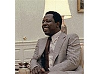 Hank Aaron during his visit to the White House, August 5, 1978.