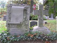 The grave of Herman Melville and his wife