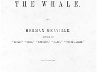 Title page of the first U.S. edition of Moby-Dick, 1851.