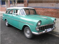 The EK of 1960 was Holden's response to the Ford Falcon, with the availability of automatic transmis
