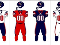 Houston Texans uniform combination