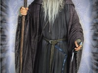 Ian McKellen as Gandalf the Grey in The Lord of the Rings: The Fellowship of the Ring, for which he