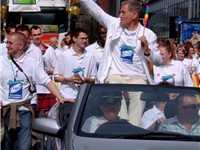 McKellen at Europride 2003 in Manchester.