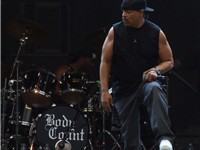 Ice-T performs at a Body Count concert in Prague, 2006.