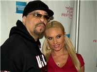 Ice-T and Coco in New York City.