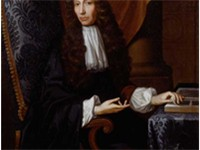 Robert Boyle, best known for the formulation of Boyle's Law.