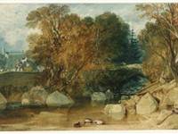 Turner's 1813 watercolour, Ivy Bridge