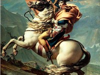Napoleon at the Saint-Bernard Pass (1801)