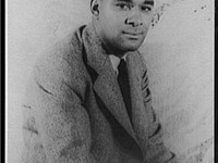 Richard Wright (1908-1960) photographed in 1939 by Carl Van Vechten