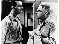Cagney as Admiral &quot;Bull&quot; Halsey in The Gallant Hours, with Dennis Weaver