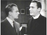 Cagney with his pal Pat O'Brien in Angels with Dirty Faces (1938), the sixth of nine feature films t