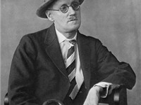 James Joyce in 1926 by Bernice Abbott
