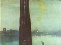 Nocturne: Blue and Gold - Old Battersea Bridge (1872), Tate Britain, London, England