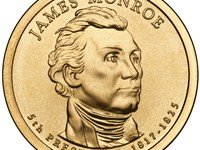 Presidential Dollar of James Monroe