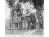 James S. Sherman's house in Utica, New York.