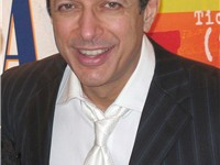 Goldblum in May 2005 after a performance of The Pillowman