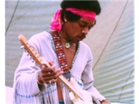 Hendrix playing The Star-Spangled Banner, Woodstock, 1969