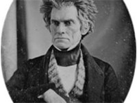 John C. Calhoun in his final years.
