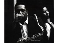 Coltrane and wife Alice, 1962