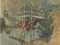 The White Bridge, ca. 1895, Minneapolis Institute of Arts