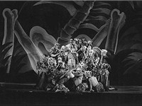 "W.P.A. Federal Theater Project in New York: Negro Theatre Unit: ""Macbeth"", ca. 1935."