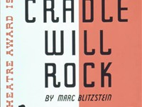 Original poster for Project #981's production of The Cradle Will Rock