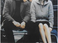 Lennon and Cynthia Powell in 1959.