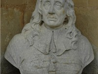 Statue of Milton in Temple of British Worthies, Stowe.