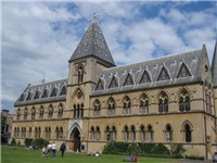 The Oxford Museum of Natural History, a building designed with Ruskin's collaboration as an experime