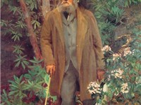 Frederick Law Olmsted, 1895, oil on canvas, 91 x 61 1/4 in., Biltmore House, Asheville, NC