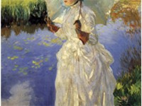 Morning Walk by John Singer Sargent, Private Collection